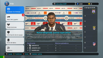 PES 2019 Press Room by Ivankr Pulquero