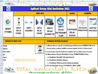 Info Guru Download Aplikasi Rekap Nilai Ulangan Harian, UTS,UKK Kurikulum 2013 SD,SMP,SMA Terbaru