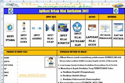 Contoh Rekap Nilai Kurikulum 2013 SD,SMP,SMA