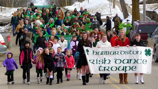The Hubbardston's St. Patrick's Day parade, parade images online application form