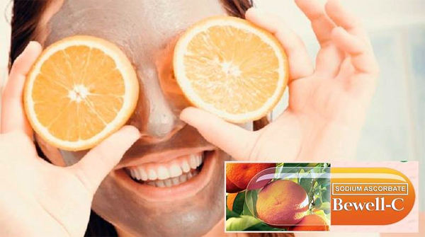 Bewell-C - Stressed moms take Vitamin C - sodium ascorbate - beauty benefits of Vitamin C