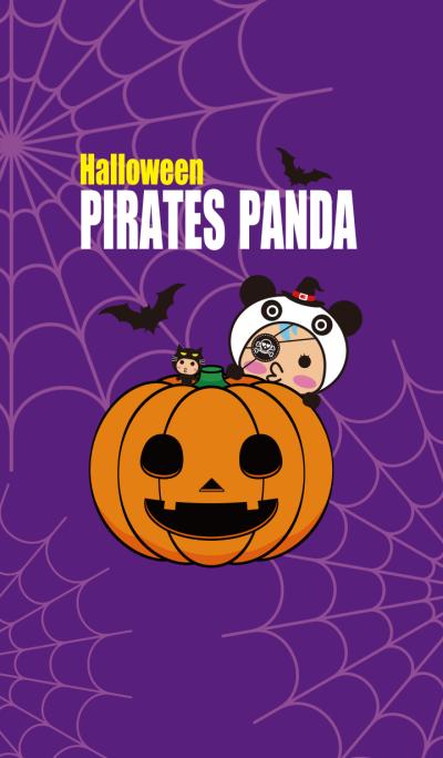 halloween pirates panda