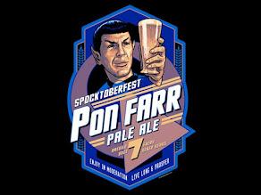 T-Shirt Bordello's Spocktoberfest Tee