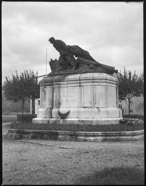 Denkmal für die Verteidiger von Verdun (Belagerung 1870) - Aufnahme aus 1940