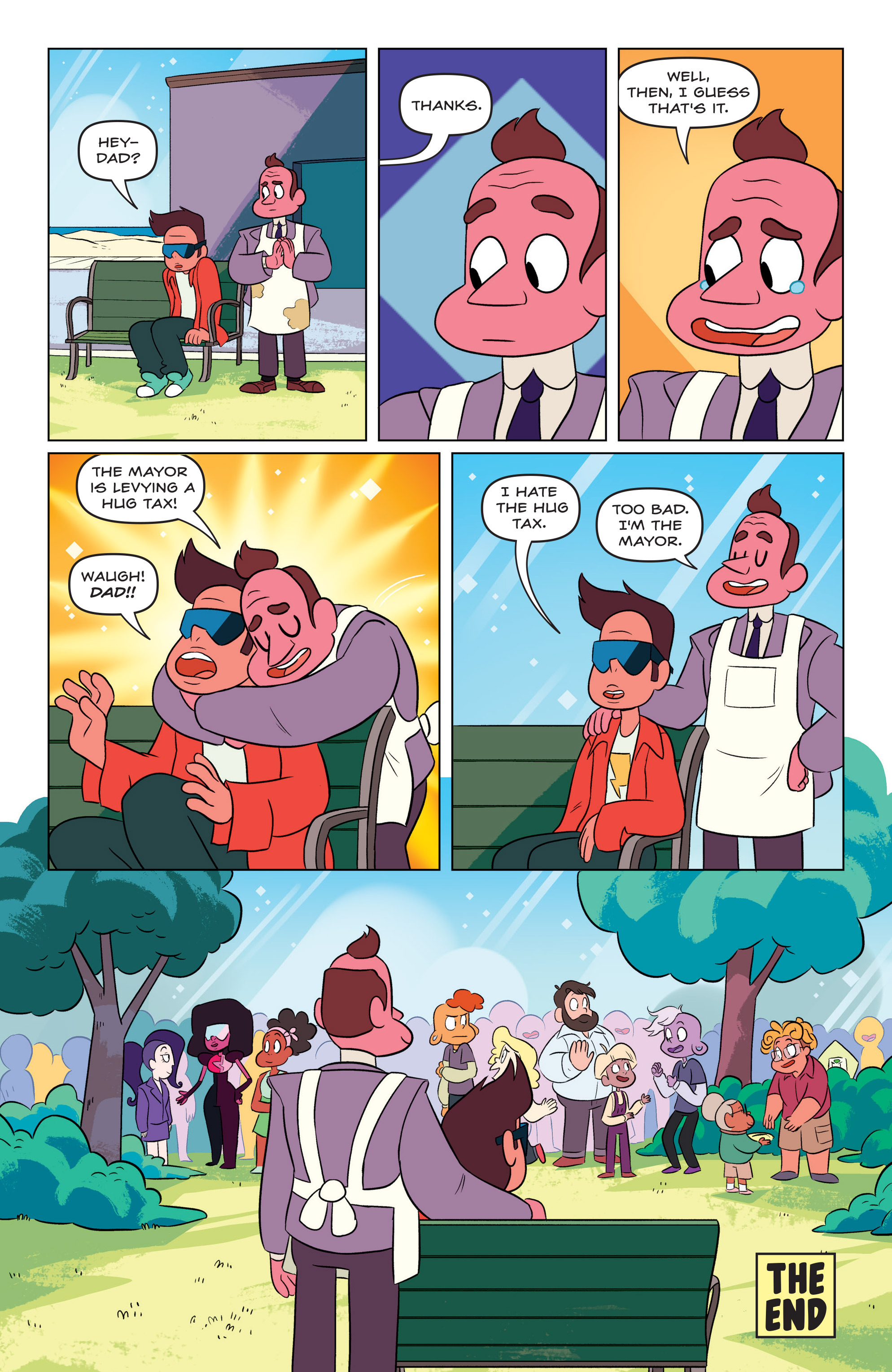 Read online Steven Universe Ongoing comic -  Issue #3 - 24