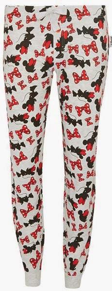 Primark pijamas: pantalones con estampado de minnie