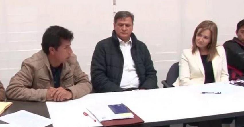 Pedro Castillo reclamó no haber sido escuchado por la ministra, pero video muestra lo contrario