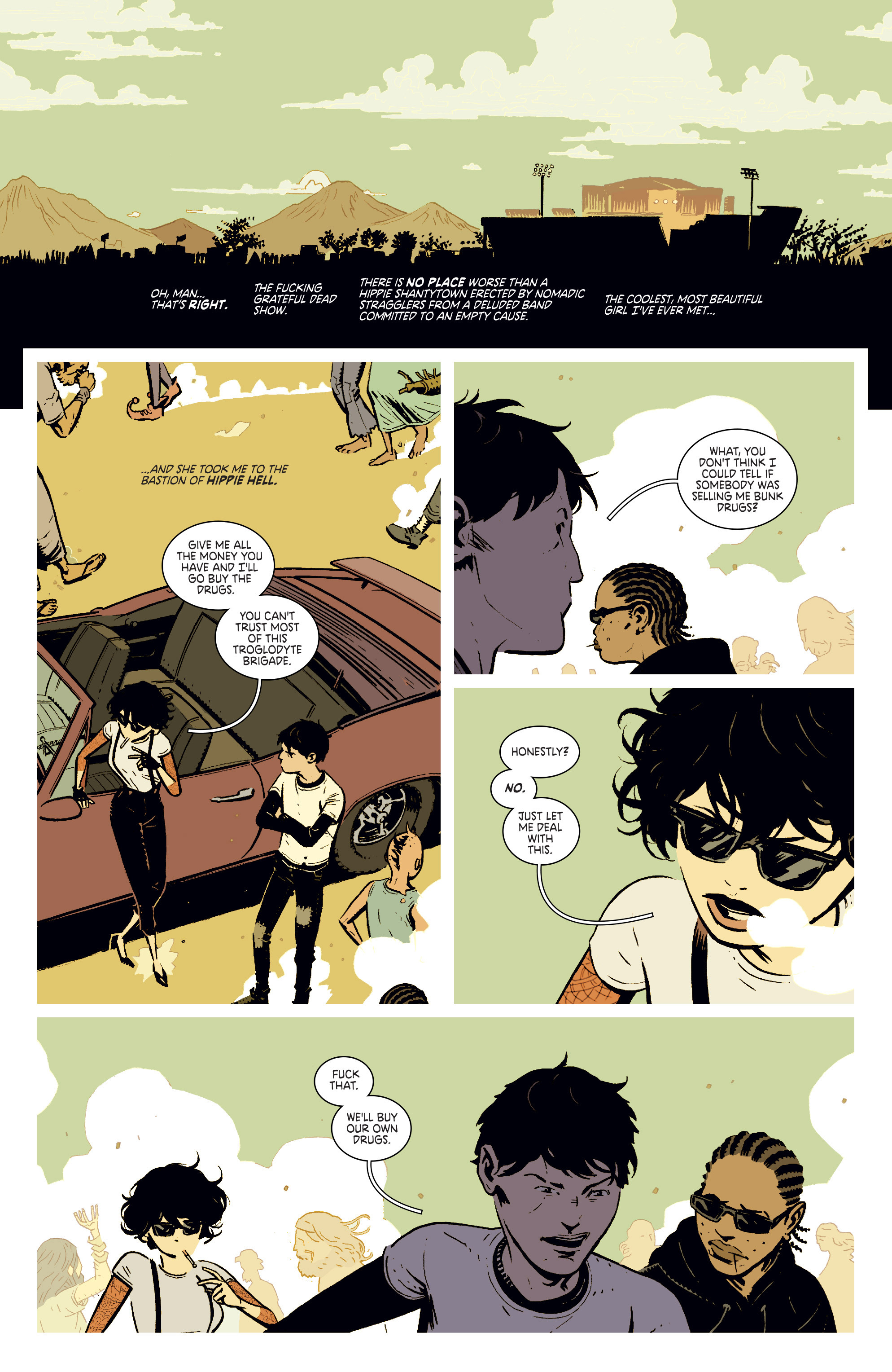 Read online Deadly Class comic -  Issue #4 - 14