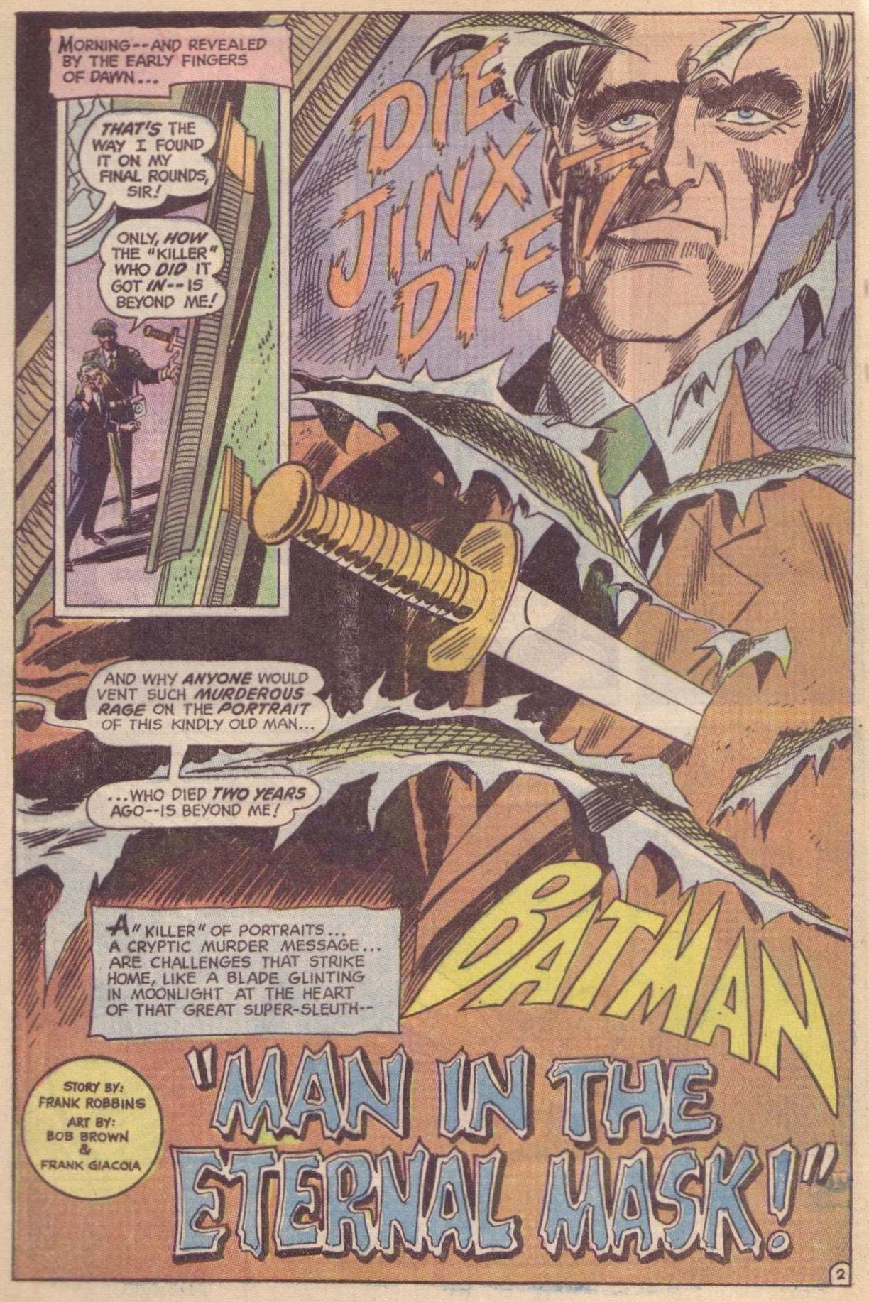 Detective Comics (1937) 409 Page 3