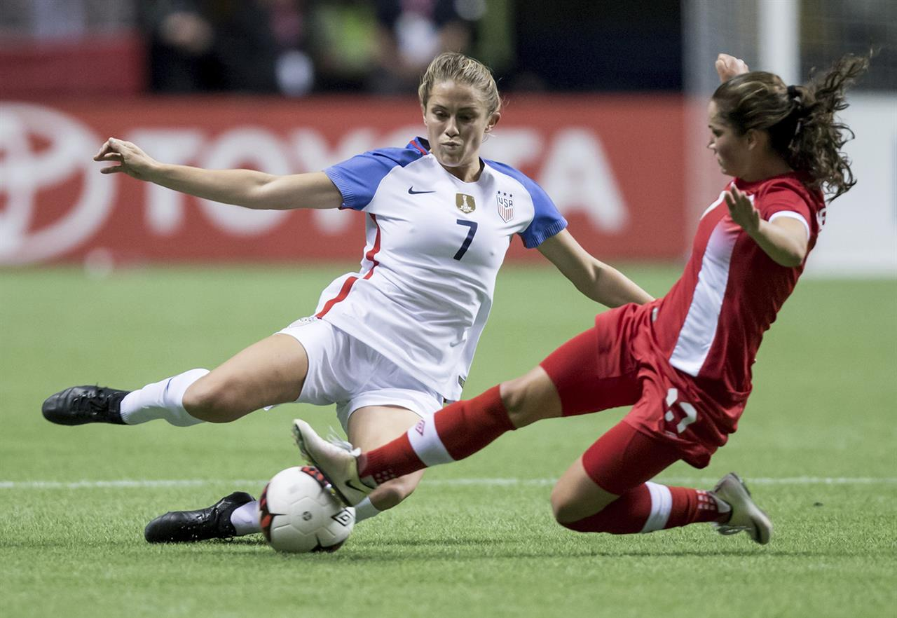 U.S. women play to a 1-1 draw against Canada