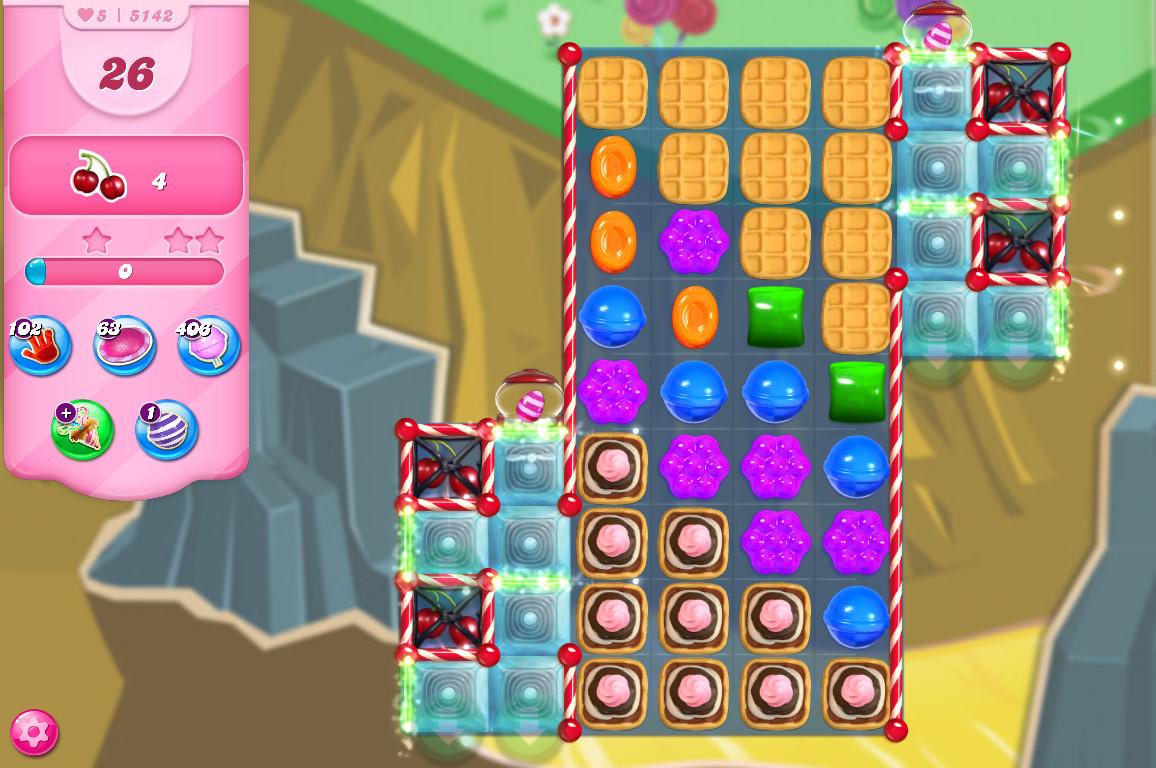 Candy Crush Saga level 5142