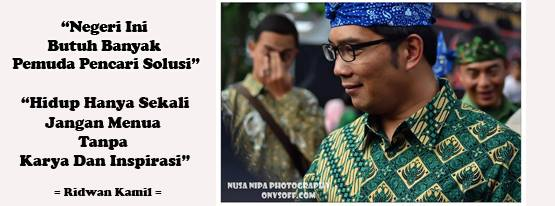 Ridwan Kamil Memutuskan Untuk Tidak Ikut Pemilihan Gubernur DKI Jakarta 2017