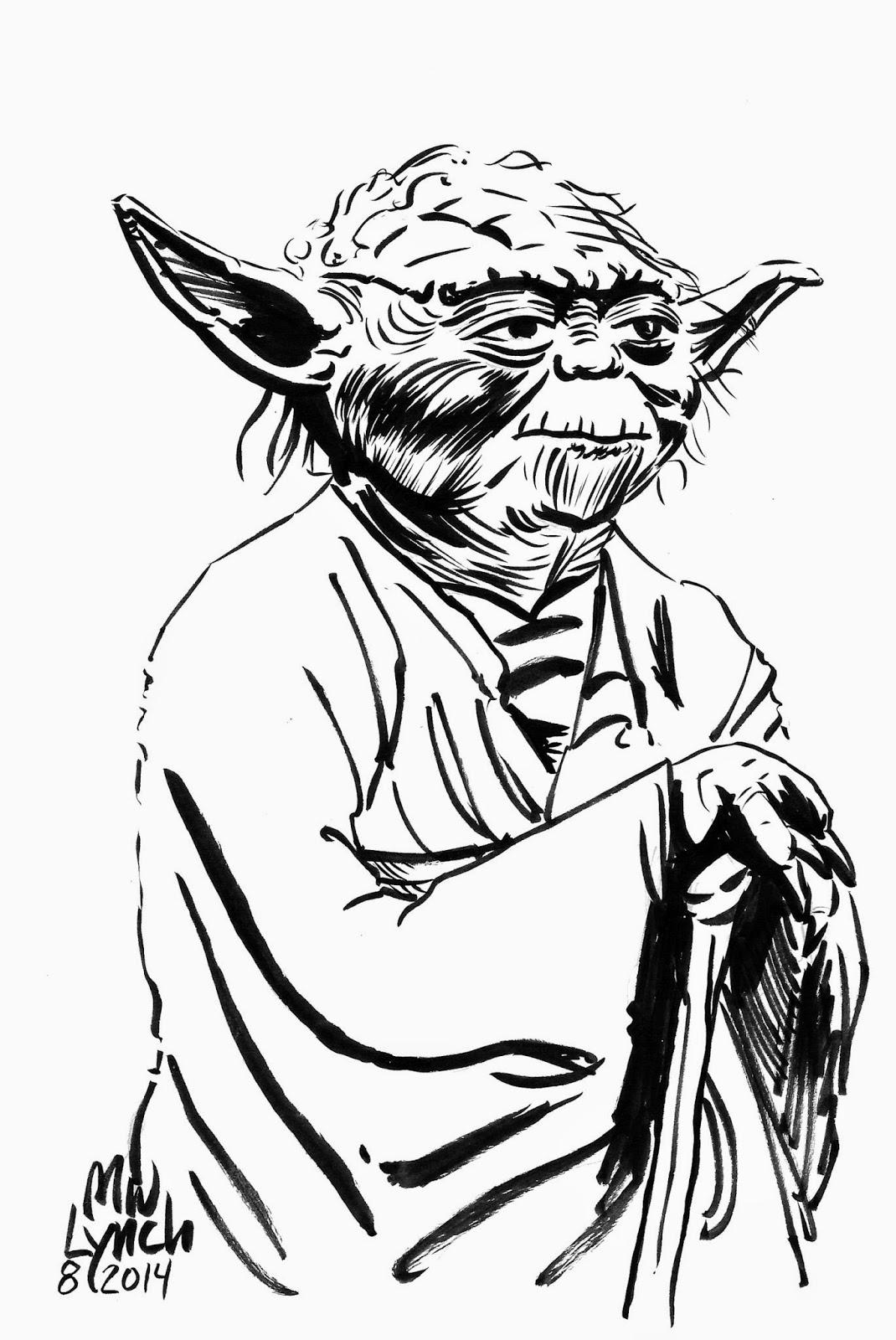 Michael Lynch Art And Illustration Star Wars Wednesday 8