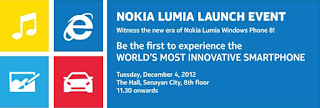Nokia Lumia Launch Event