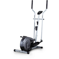 "Weslo Momentum G 3.4 Compact Elliptical Trainer, with low step-thru base, 14"" stride length, inertia-enhanced flywheel"