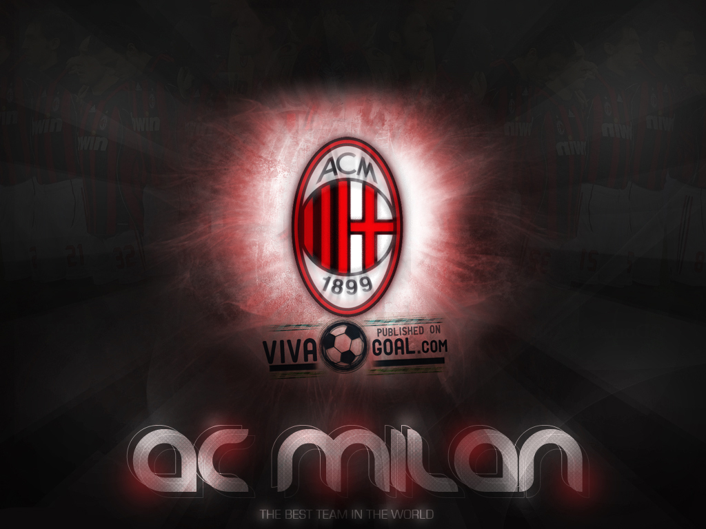 All About Football Ac Milan Iphone 4 Wallpaper