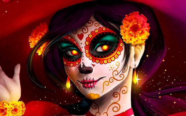 Noche de Muertos, una tradición del 2 de noviembre mejor conocida como día de muertos. Estas son unas lineas dedicadas a ese día.