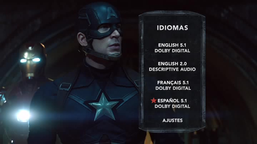 Captain America: Civil War/Capitán América: Guerra Civil