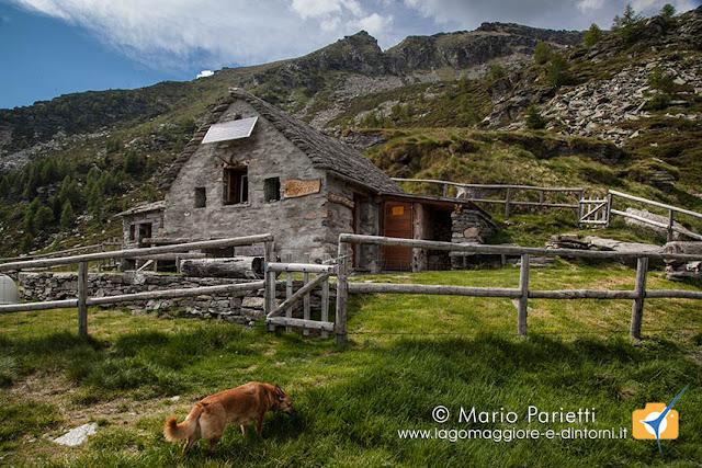 Rifugio alpe Costa valle Verzasca