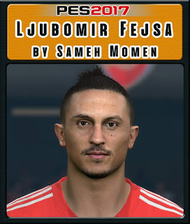 PES 2017 Faces Ljubomir Fejsa by Sameh Momen