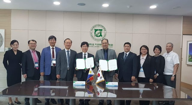 MOU with Chonnam National University Korea