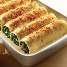 Recetas De Cocina Baja En Calorias Y Grasa | Recetas Bajas En Calorias Canelones De Verdura Calzabaza Light