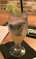 Photograph of Artigiano's Cointreau Fizz Tea