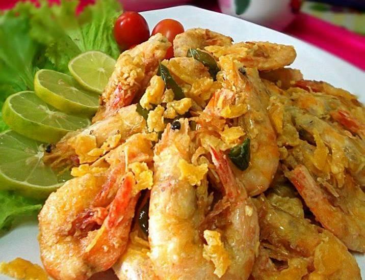 udang goreng halia spartan crock Resepi Nasi Goreng Cili Padi Ala Thai Enak dan Mudah