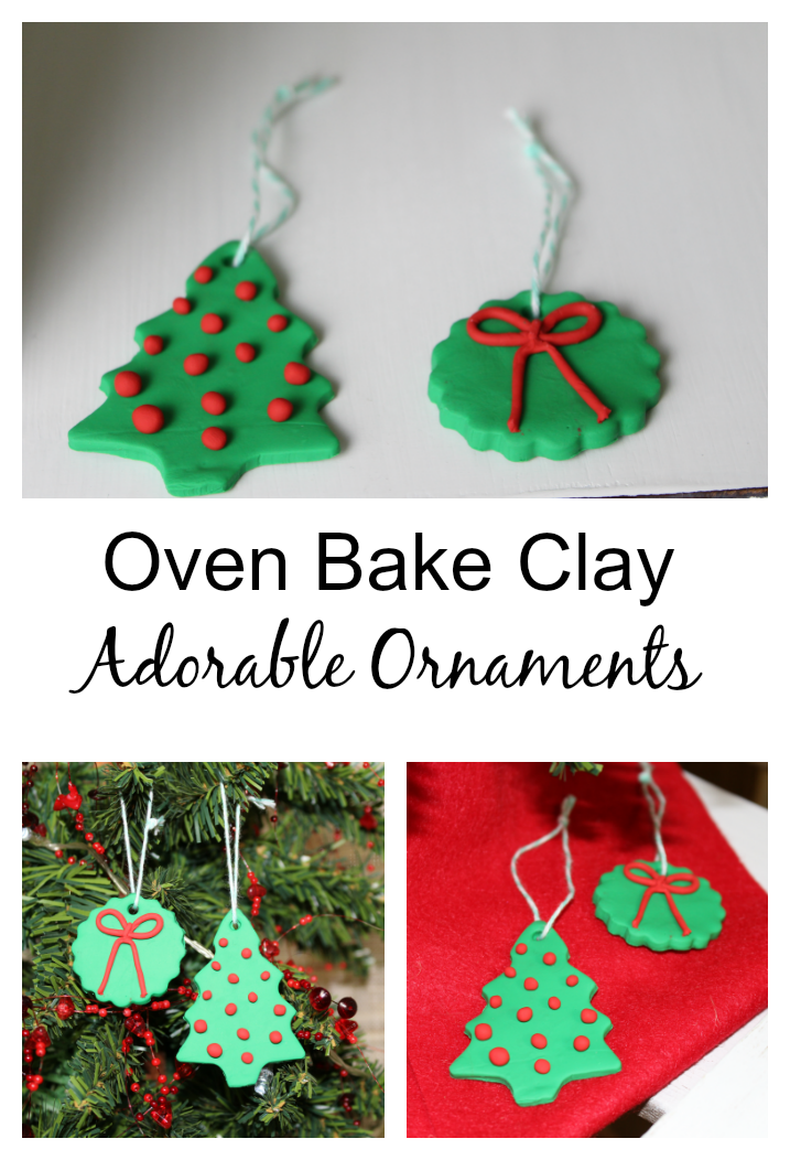 Christmas handmade ornaments/bake clay. http://diy180site.blogspot.com/ - DIY180: Handmade Christmas Ornaments