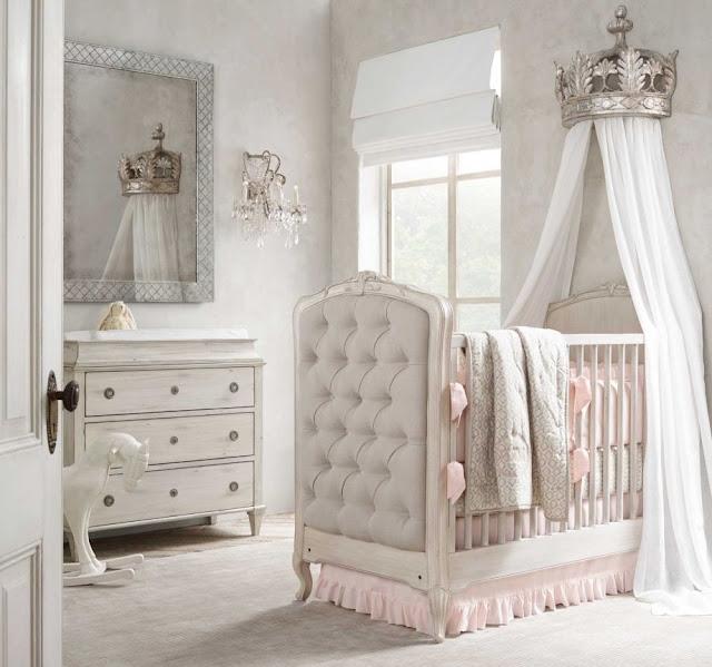 ideia para decorar quarto de menina