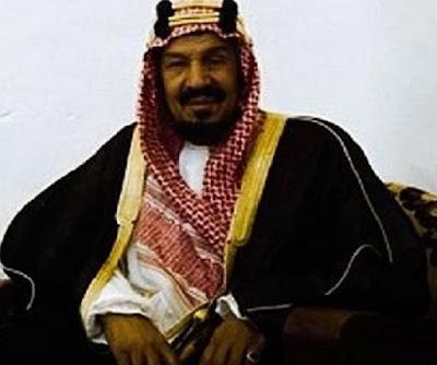raja arab saudi pertama