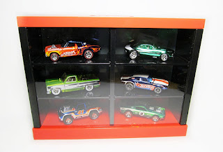 tomica display case minicars
