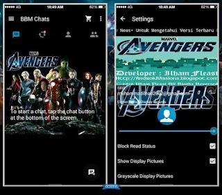 BBM MOD Avenger versi terbaru 2.13.1.14 APK