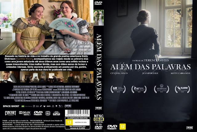 Capa DVD Além Das Palavras