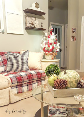 Cozy up your home by using plaid, a versatile pattern that can work in every room! I'll show you how at diy beautify!