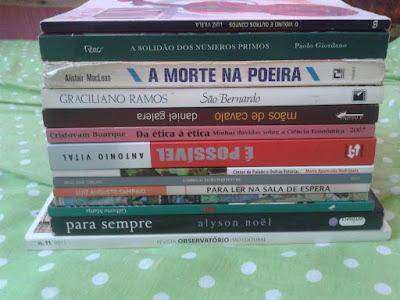 Livros que troquei ou doei