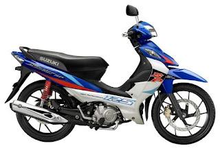 Spesifikasi dan Harga Suzuki Shogun 125