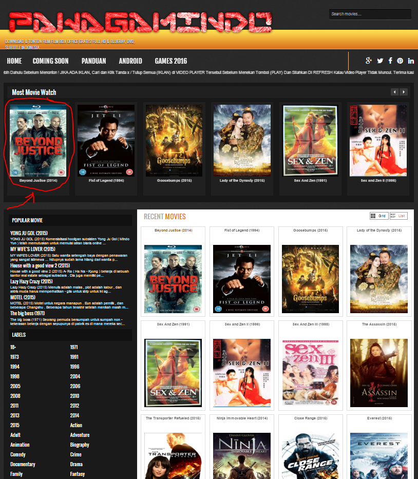 Tips dan Cara Download Film gratis