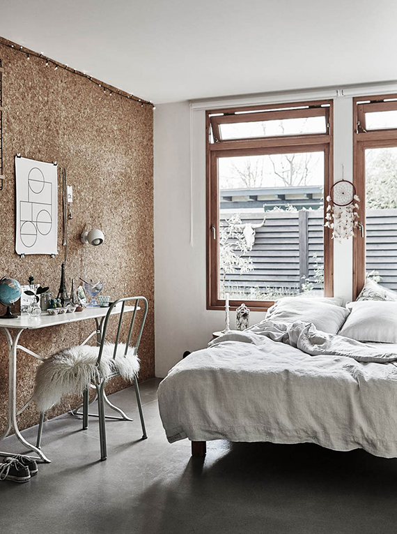 Eclectic scandinavian home styled by Tina Hellberg