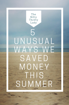 uncommon ways to save money during the summer