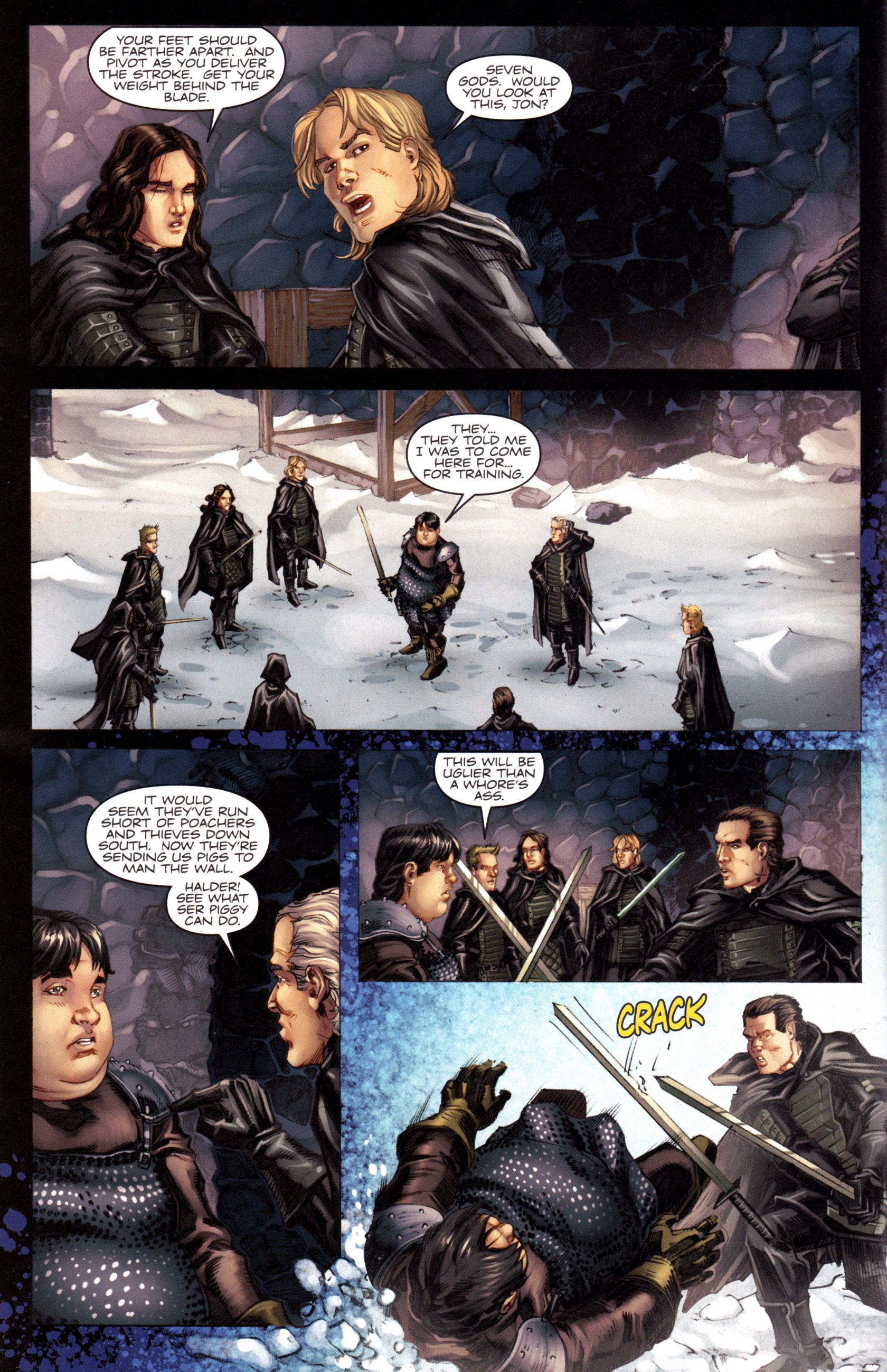 Read online A Game Of Thrones comic -  Issue #8 - 12