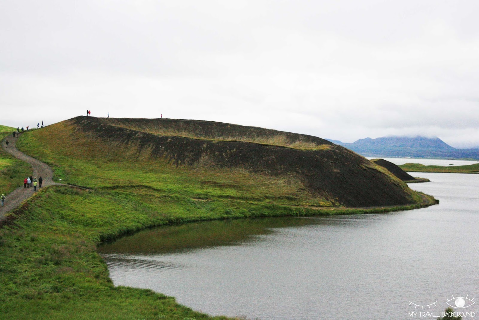 My Travel Background : 2 jours autour du lac Myvatn en Islande - Pseudo-cratères