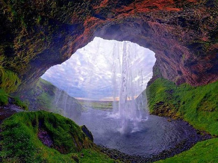 Seljalandsfoss Is One Of The Most Famous Waterfalls Iceland It Very Picturesque And Therefore Its Photo Can Be Found In Many Books Calendars