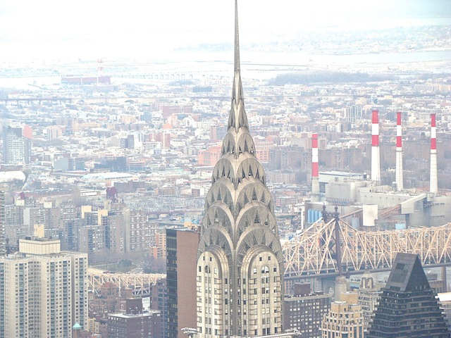 CHRYSLER BUILDING - FOTO TIRADA DO EMPIRE STATE BUILDING