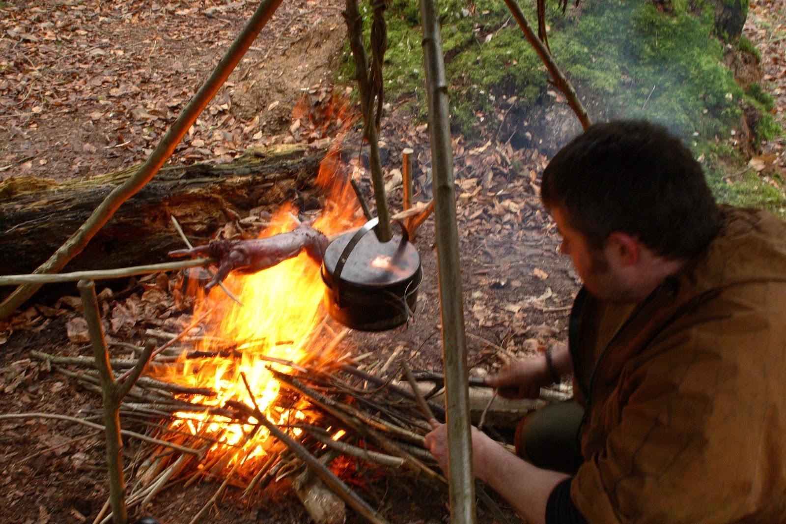 Wilderness Survival Skills And Bushcraft Antics Fire