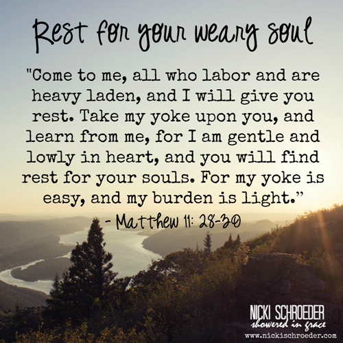 rest in God's grace today.