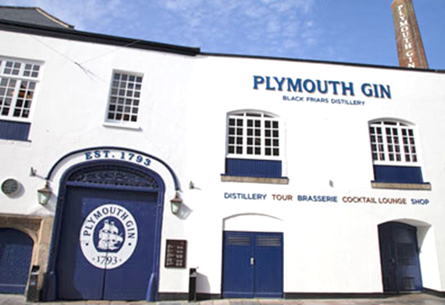 Black Friars Distillery Plymouth Devon.