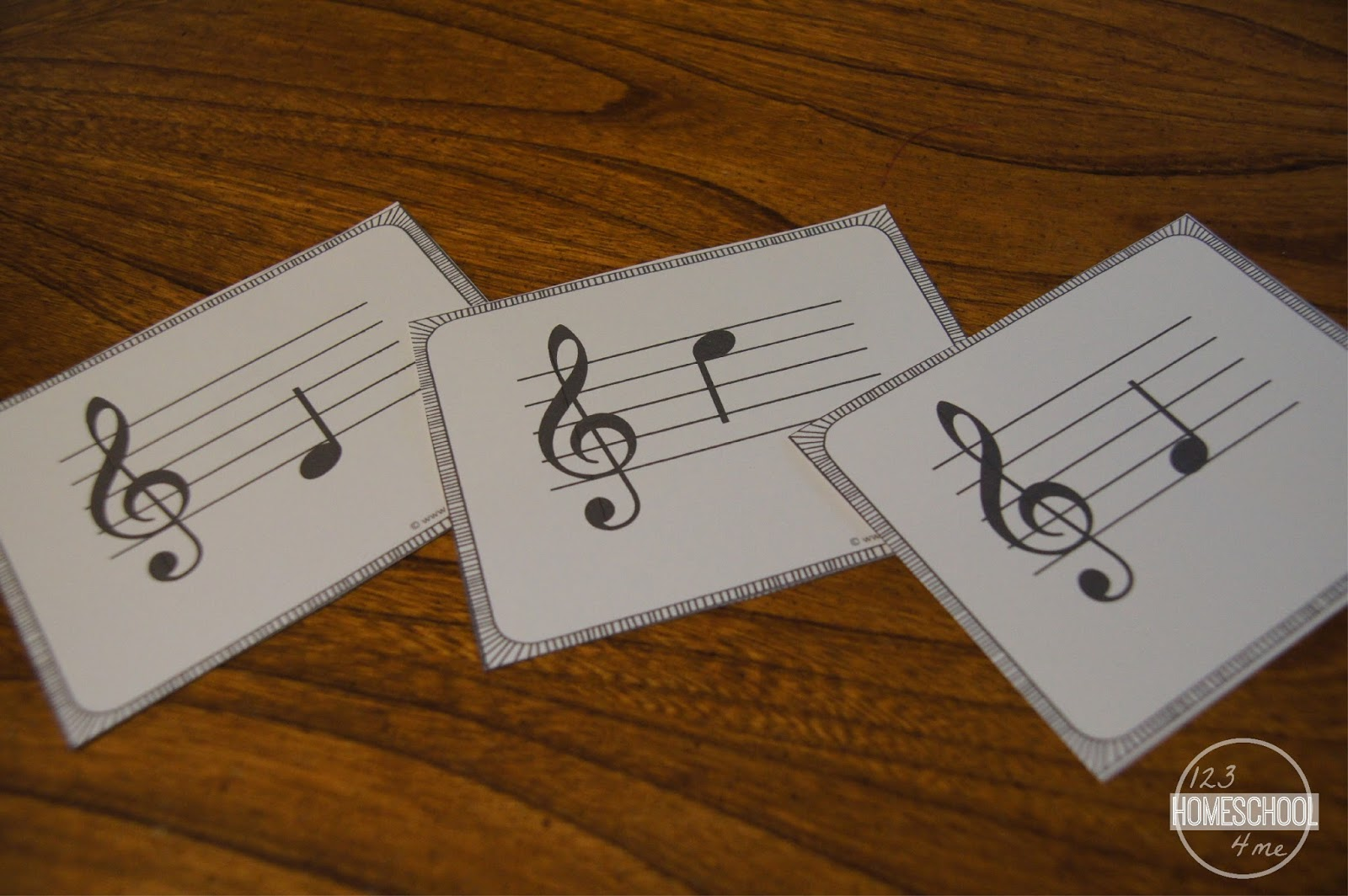 This is a graphic of Revered Printable Music Notes Flashcards