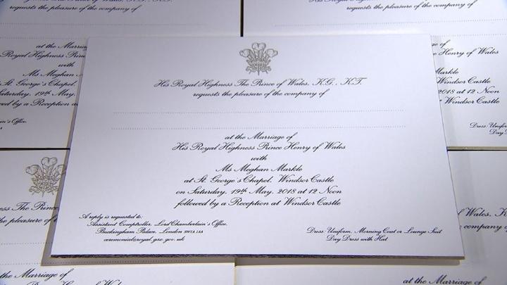 Mad About Meghan Royal Wedding Elegant Invitations A Reception