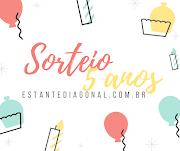 Sorteio: Aniversário de 5 anos do blog Estante Diagonal